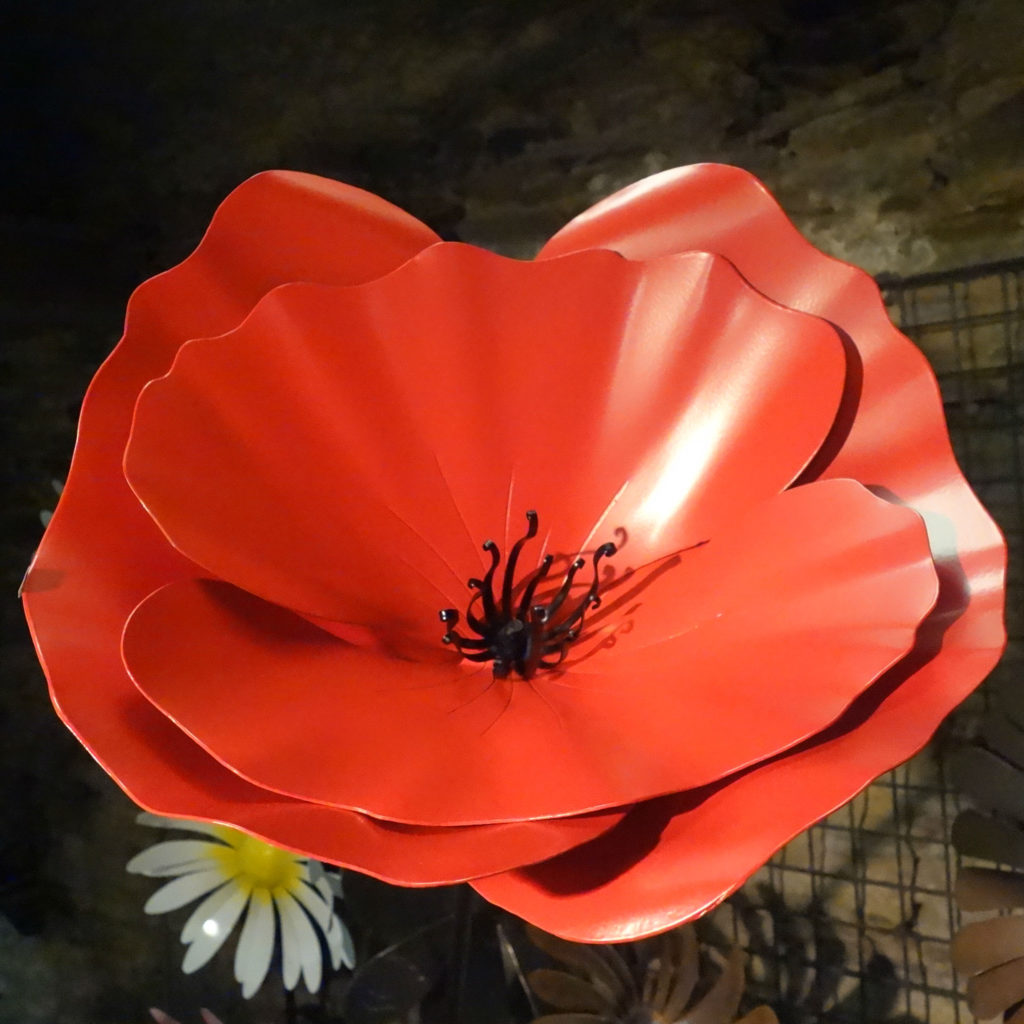 verrhouille-coquelicot-fer forge-la gacilly